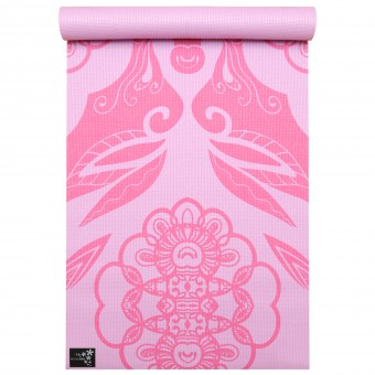 Yogamatte yogimat® basic - art collection ethnic rose