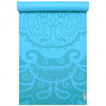 Yogamatte yogimat® basic - art collection ethnic turquoise