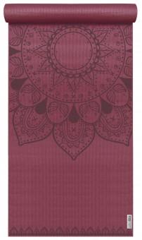 Yogamatte yogimat® basic - art collection - harmonic mandala bordeaux