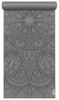 Yogamatte yogimat® basic - art collection - lotus mandala graphite