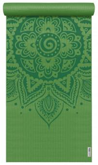 Yogamatte yogimat® basic - art collection - spiral mandala kiwi