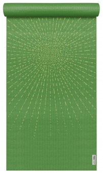 Yogamatte yogimat® basic - art collection - sparkling sunray kiwi