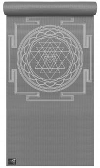 Yogamatte yogimat® basic - sri yantra graphite