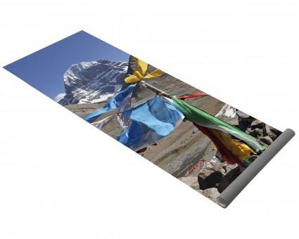 Yoga mat yogimat® hot yoga - image kailash mountain view