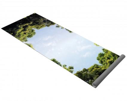 Yogamatte yogimat® hot yoga - image treetop view