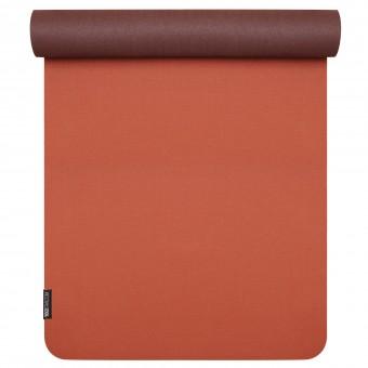 Yoga mat 'pure eco' red-bordeaux