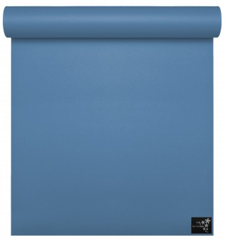 Yoga mat 'sun' travel topaz-blue