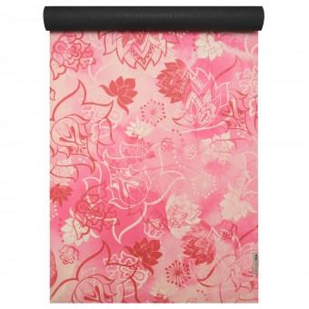 Yogamatte yogimat® travel - art collection lotus rose-red