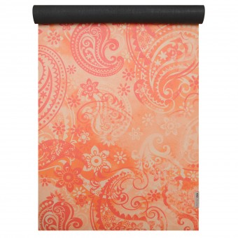 Yogamatte yogimat® travel - art collection paisley orange-red