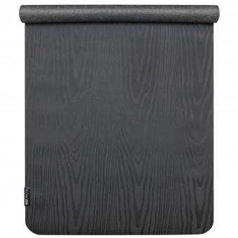 Yogamatte yogimat® travel black - wooden effect