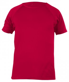 Yoga-T-Shirt - men - chili red