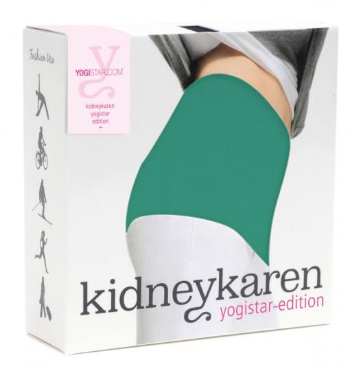 Nierenwärmer yogistar edition - smaragd