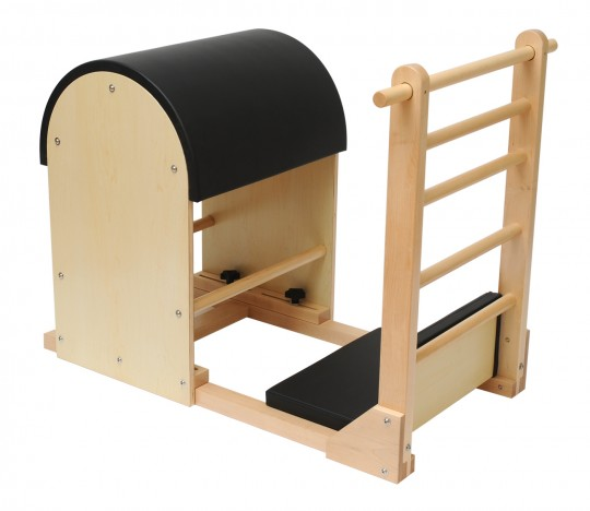 Ladder Barrel - Holz-Basis - black