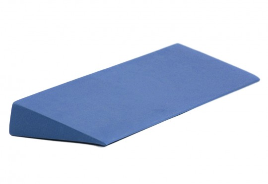 Yoga block - yogiblock - wedge - blue - yoga and pilates block