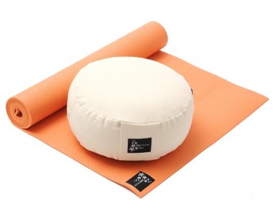 Yoga-Set Starter Edition - Meditation (Yoga mat + Cushion)