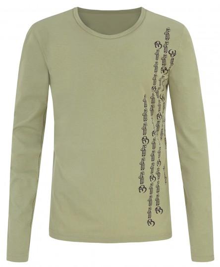"Yoga-Shirt ""Orest"" - men - eucalyptus"