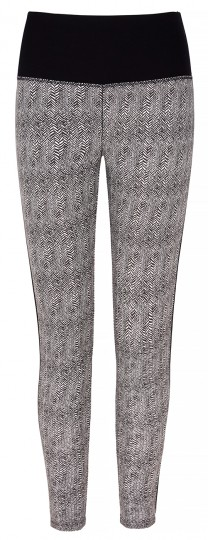 "Yoga-Leggings ""Flow with it"" - herringbone"