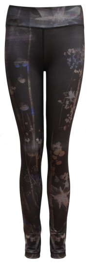 "Yoga-Leggings ""Panarea"" - everglades"
