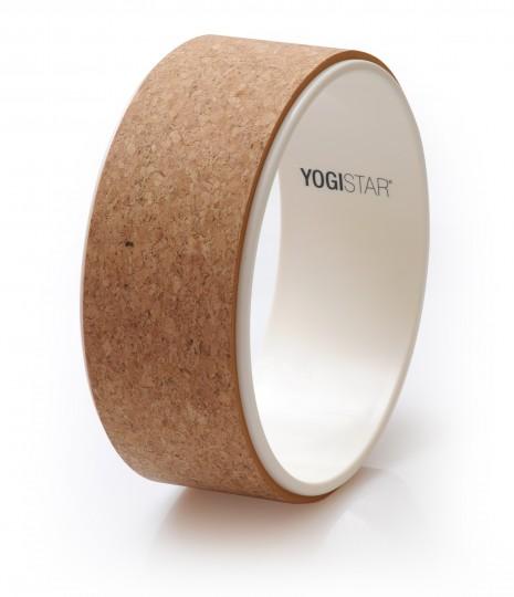 Yogarad yogiwheel® - cork/white