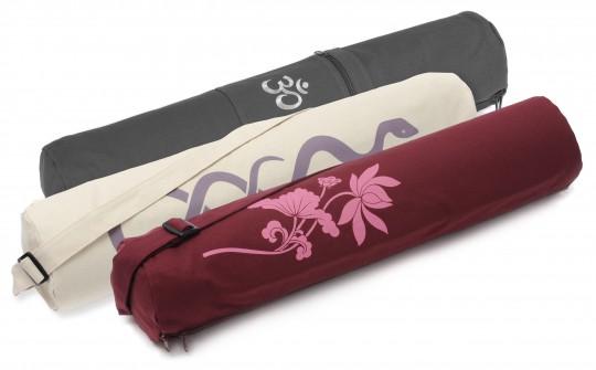 Yoga carrybag basic - zip - cotton - art collection - 65 cm