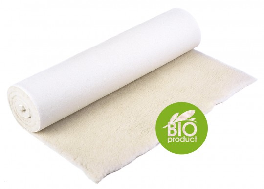 Yoga mat 'Nature' (BIO virgin wool)