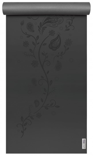 Yogamatte yogimat® ultra grip - black indian flower