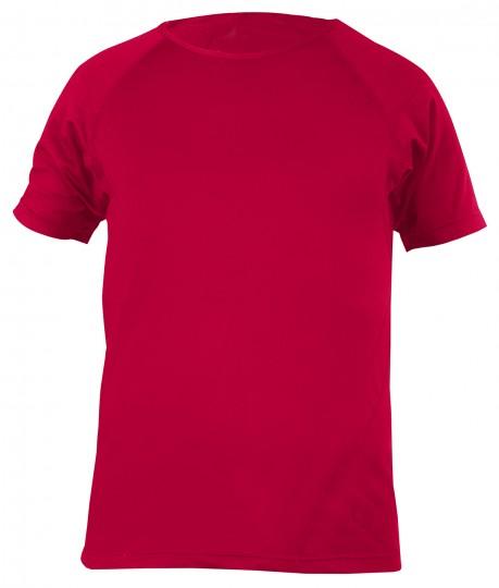 Yogi-T-Shirt, men - chili red