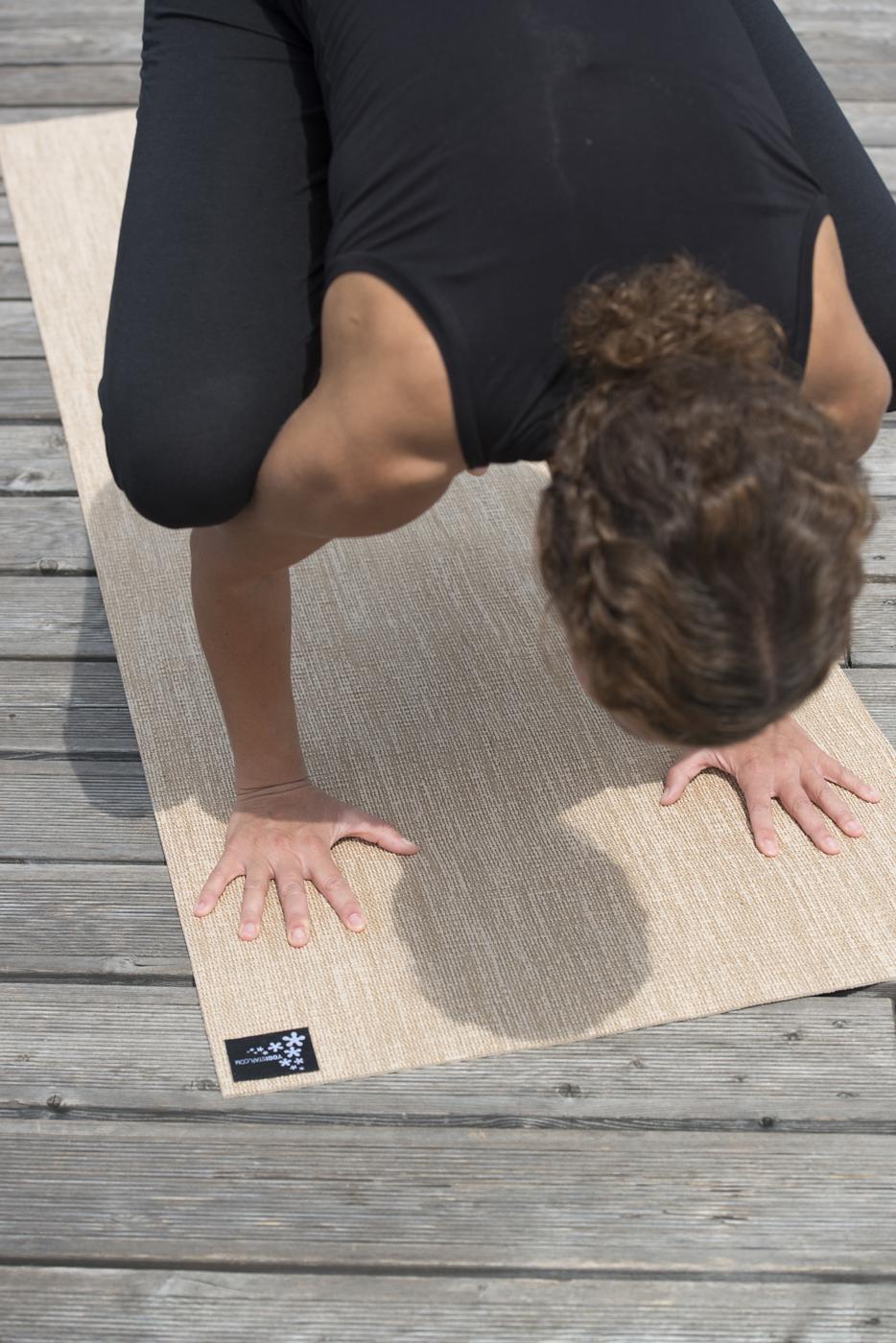 yogamatte yogimat jute im yogistar com kaufen yoga zubeh r yogamatten und yoga. Black Bedroom Furniture Sets. Home Design Ideas