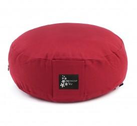 Meditationskissen - rund red
