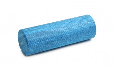Pilates roll, blue (two colors) blue marble (45 cm)