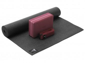 Yoga-Set kick it - one (Yogamatte + Yogablock + Yogagurt) zen