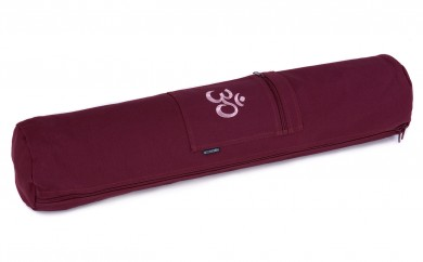 Yogatasche basic - zip - cotton - art collection - 65 cm OM bordeaux