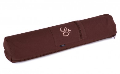 Yogatasche basic - zip - cotton - art collection - 65 cm OM choco