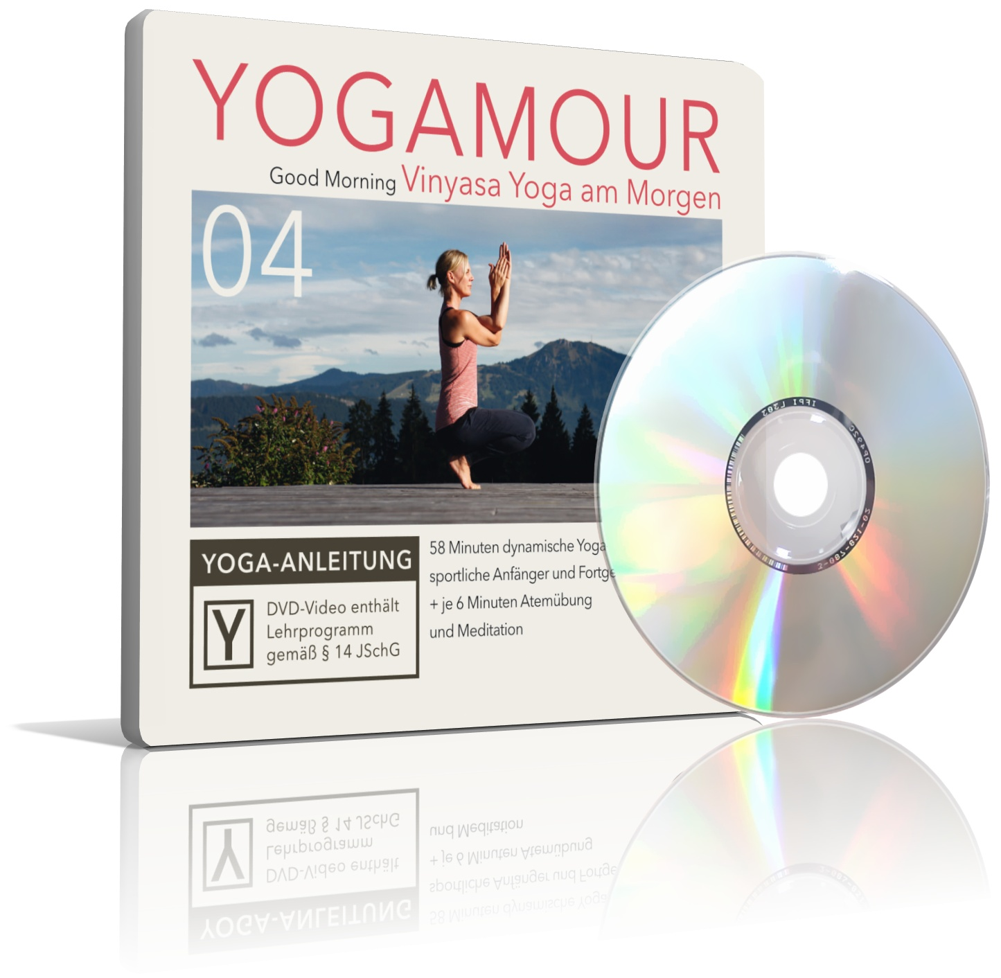Good Morning - Vinyasa Yoga am Morgen (DVD) von YOGAMOUR