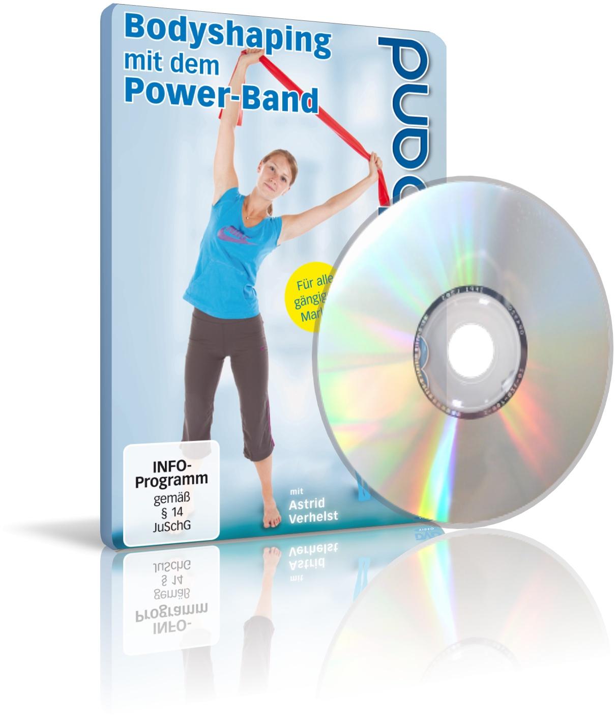 Bodyshaping mit dem Power-Band mit Astrid Verhelst (DVD)