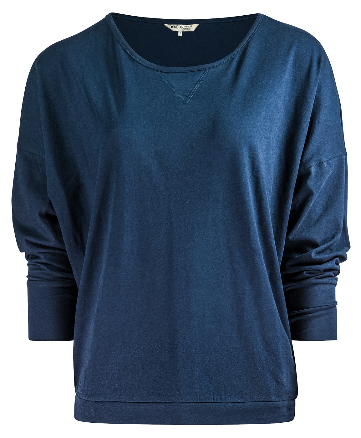 "Yoga-Shirt ""Batwing"" - navy"