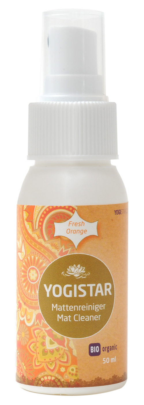 Bio Yogamatten-Reiniger - fresh orange - 50 ml
