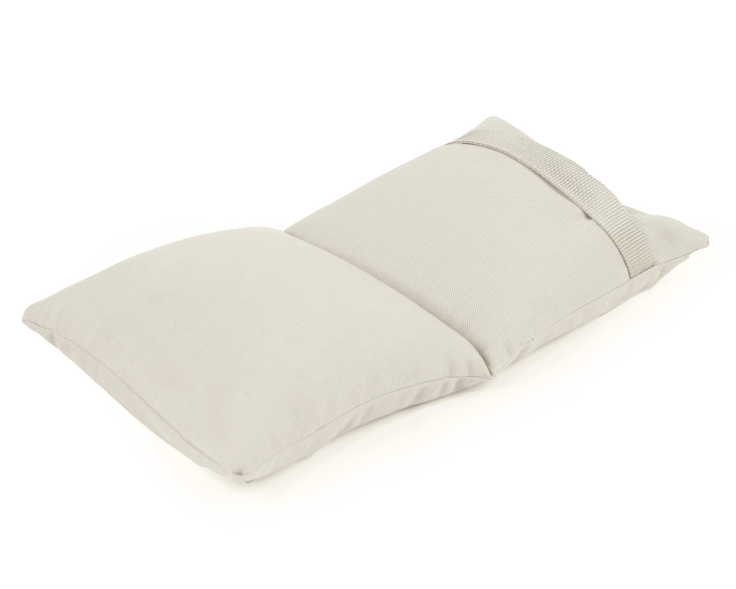 Yoga sandbag balanced