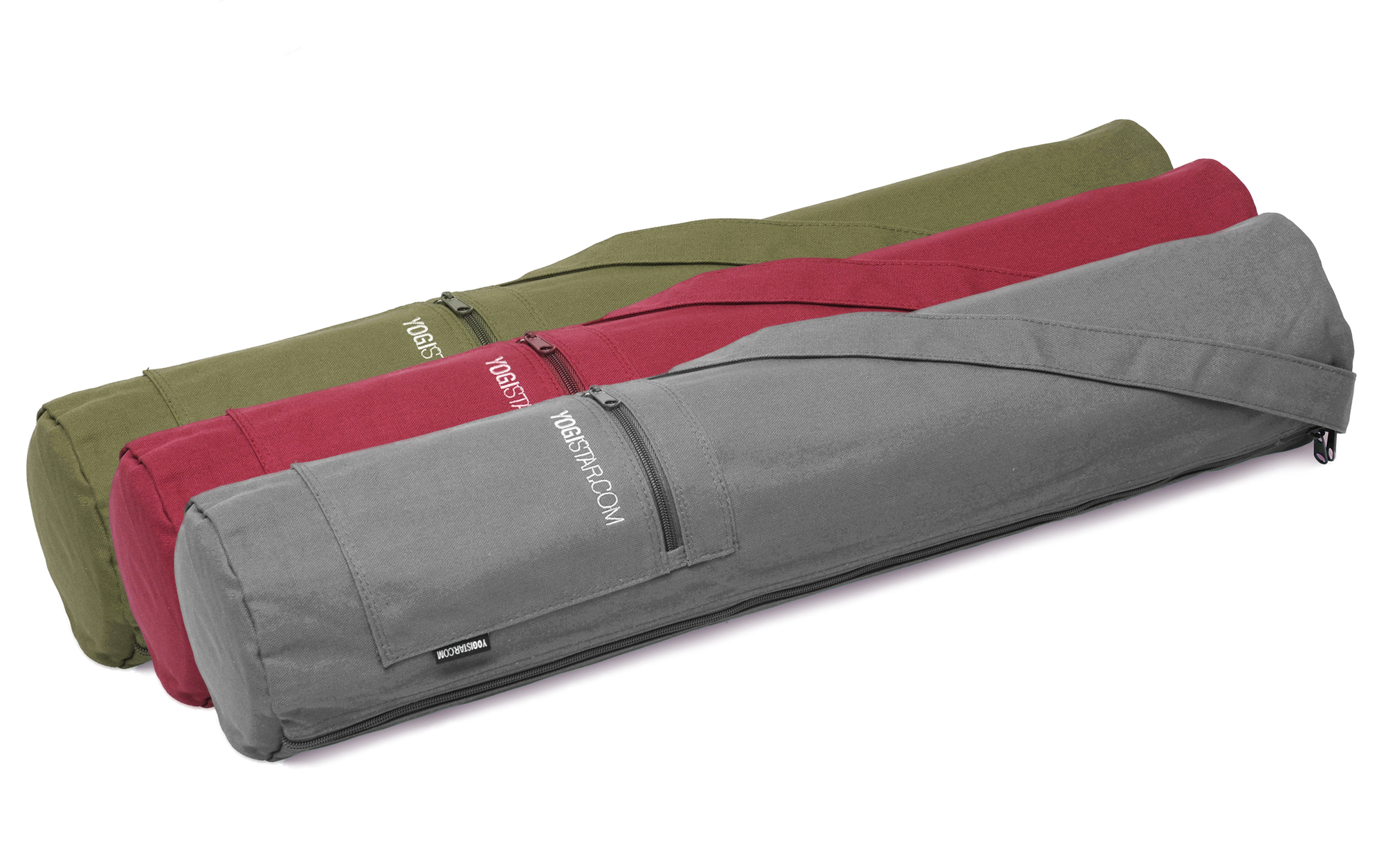 593defce8f Yoga bag yogibag® basic - zip - cotton - 65 cm buy online at ...