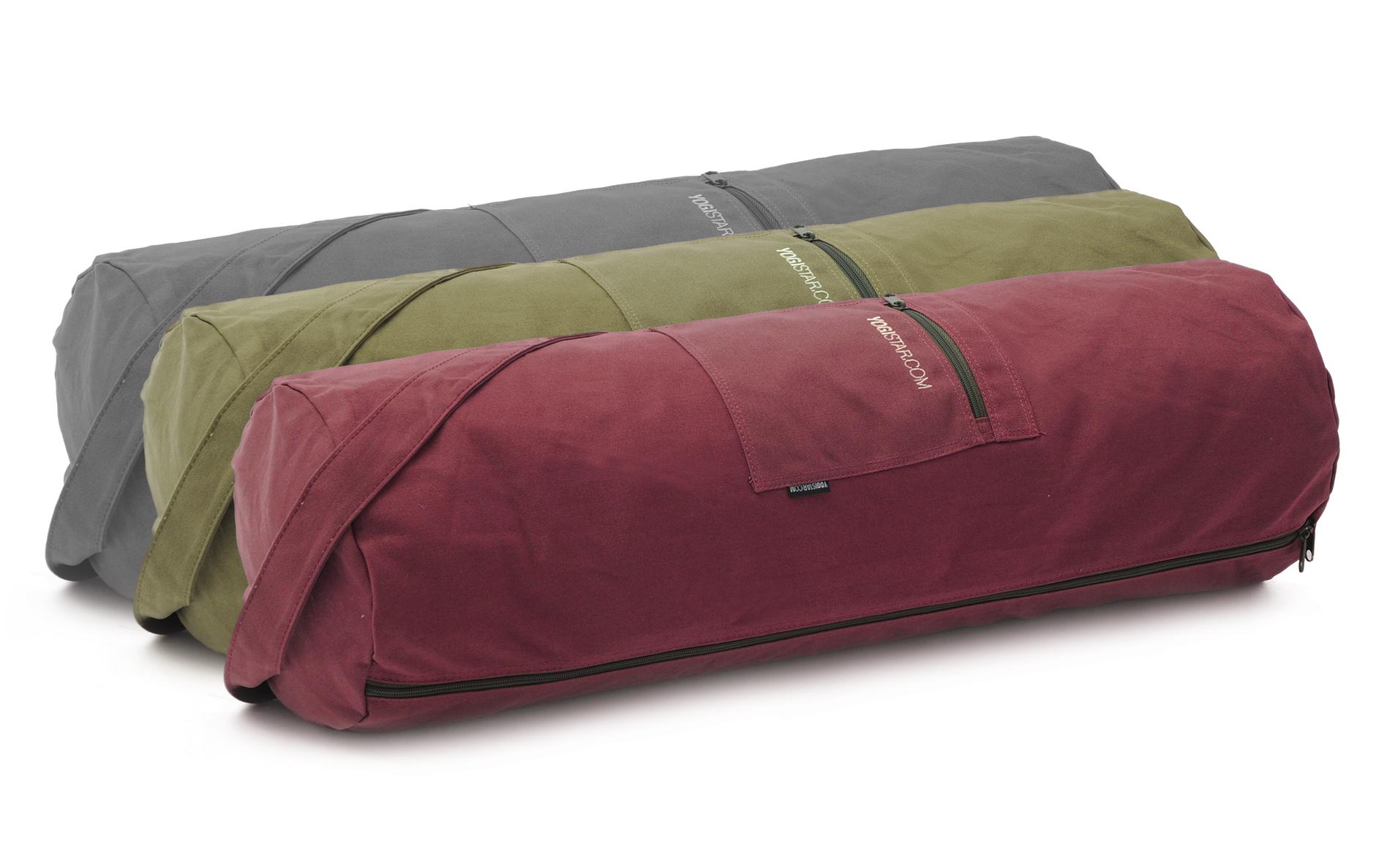 Yoga bag yogibag® basic - zip - cotton - big plus - 73 cm