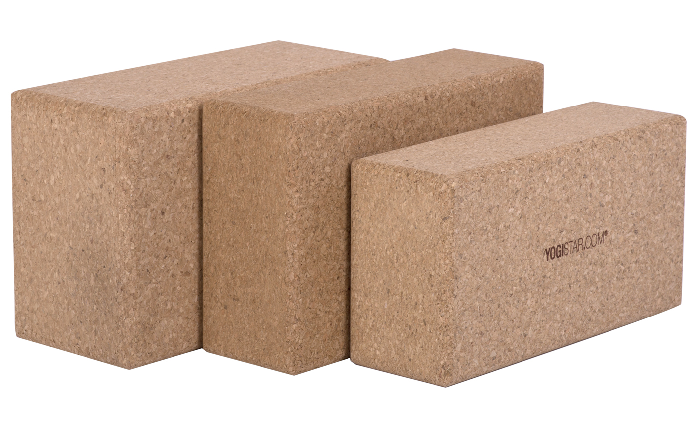 Yoga Block Yogiblock Cork Buy Online At Yogistar Com