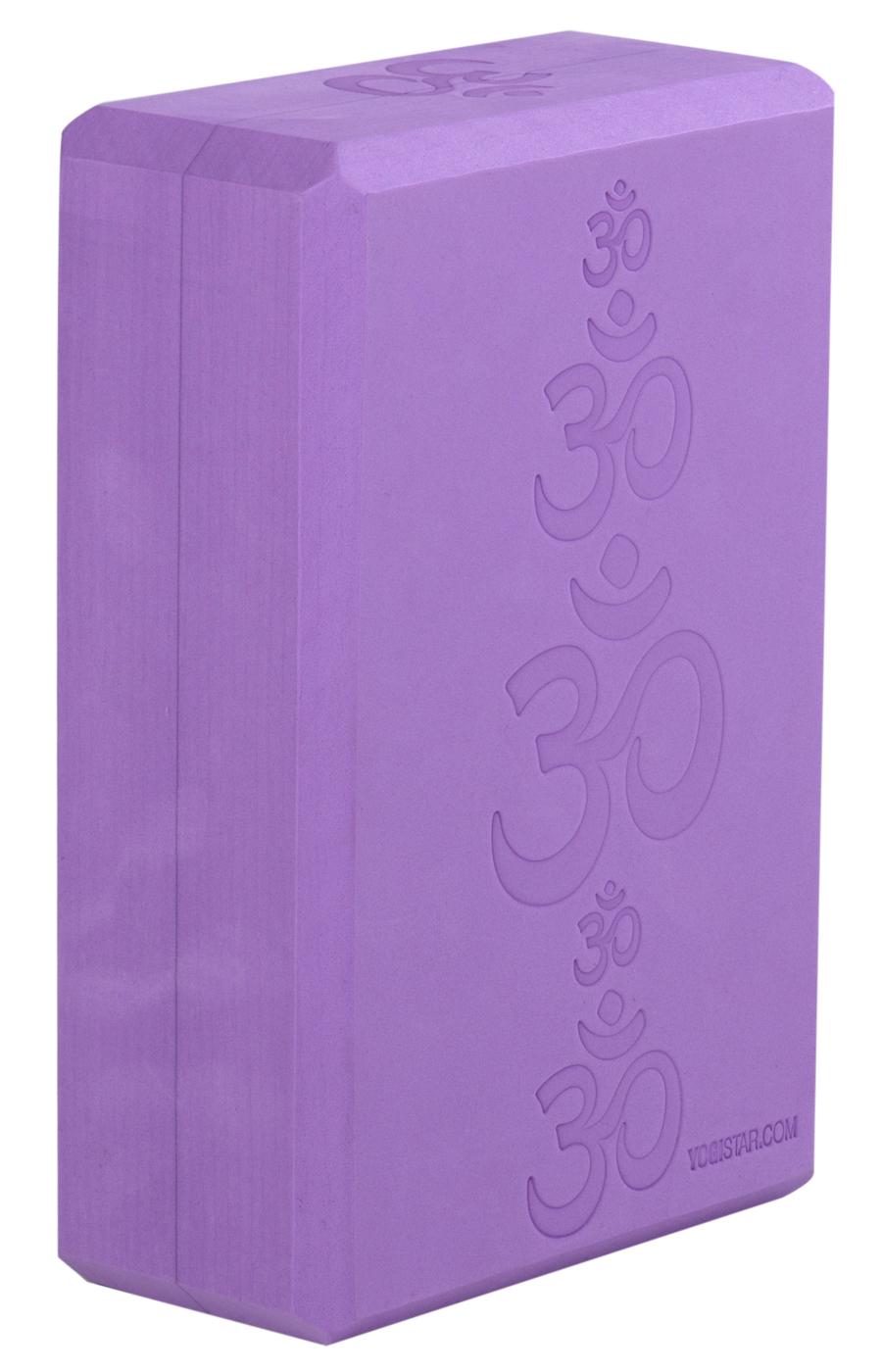 Yoga block - yogiblock 'Big OM'