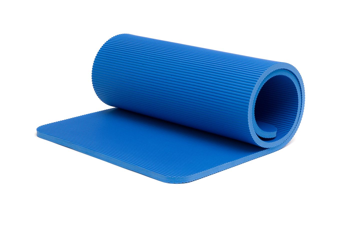 Pilates mat 'Pro' blue buy online at YOGISTAR.COM | Yoga ...