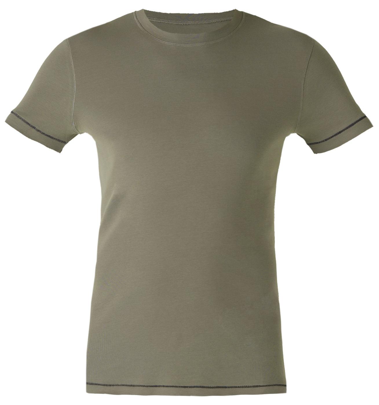 """Yogi-T-Shirt """"Oliver"""", olive"""