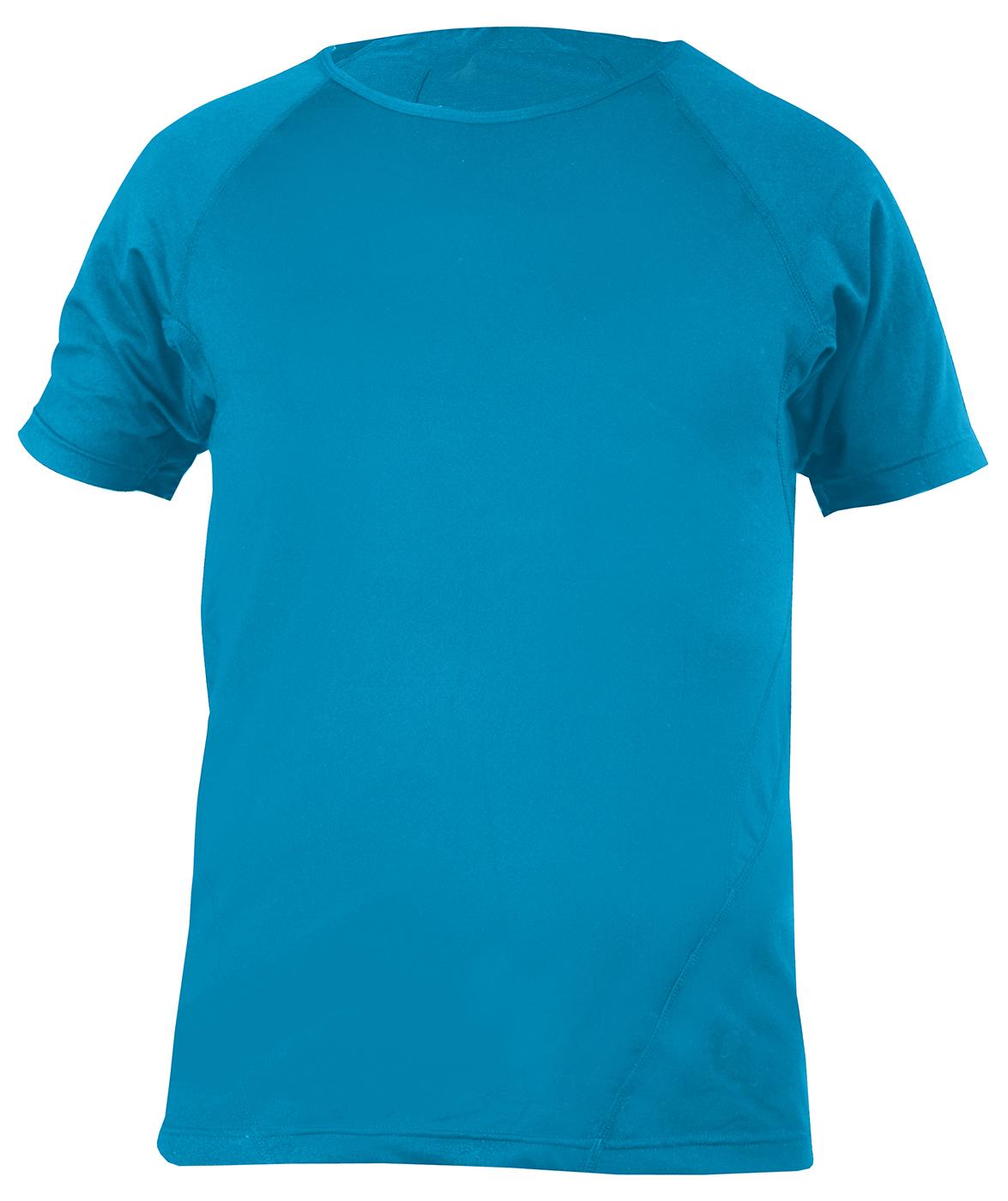 Yogi-T-Shirt, men - aqua