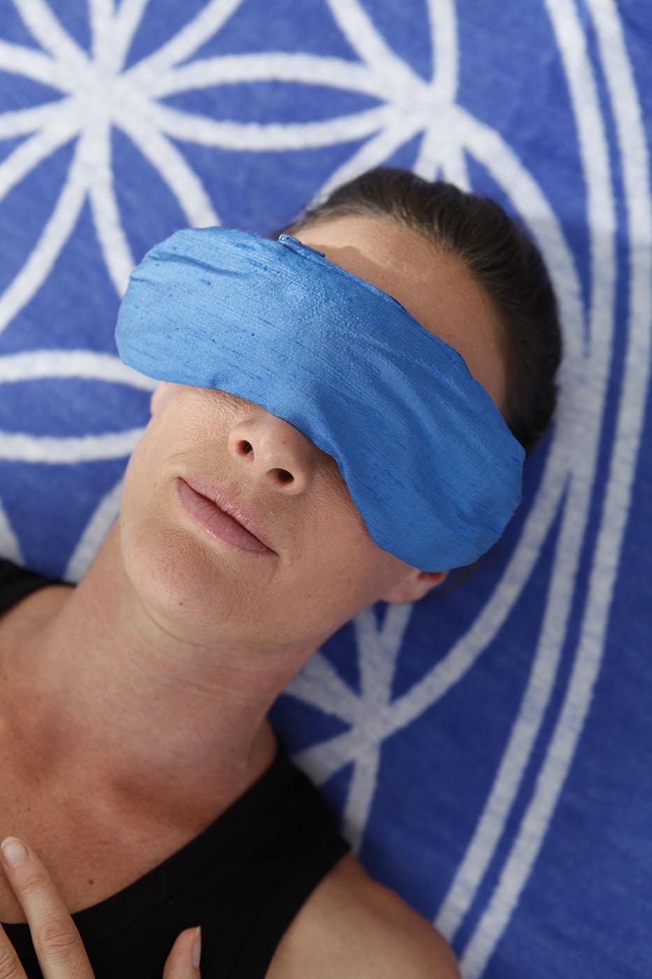 Augenkissen - Wilder Lavendel + Bio-Leinsamen