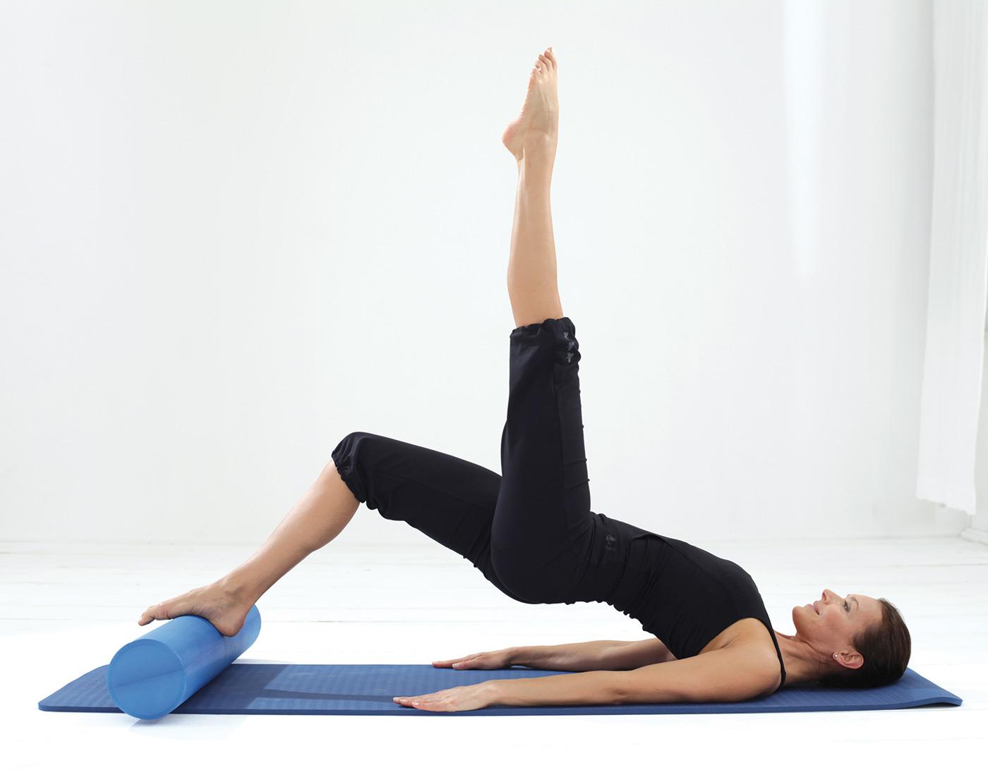 Pilates Roll Pro Blue Buy Online At Yogistar Com