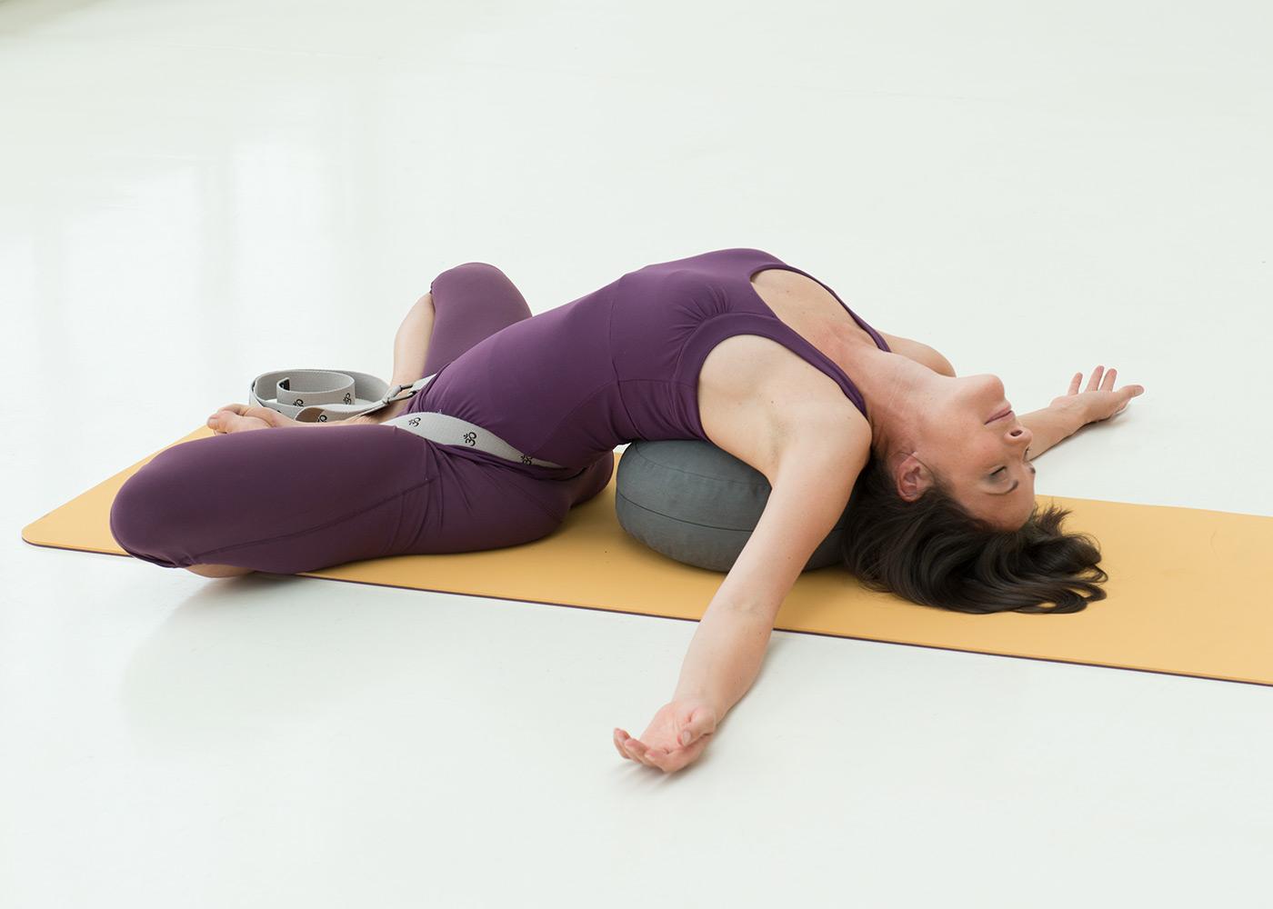Yogagurt yogibelt® extra - OM - MB 300cm - grey
