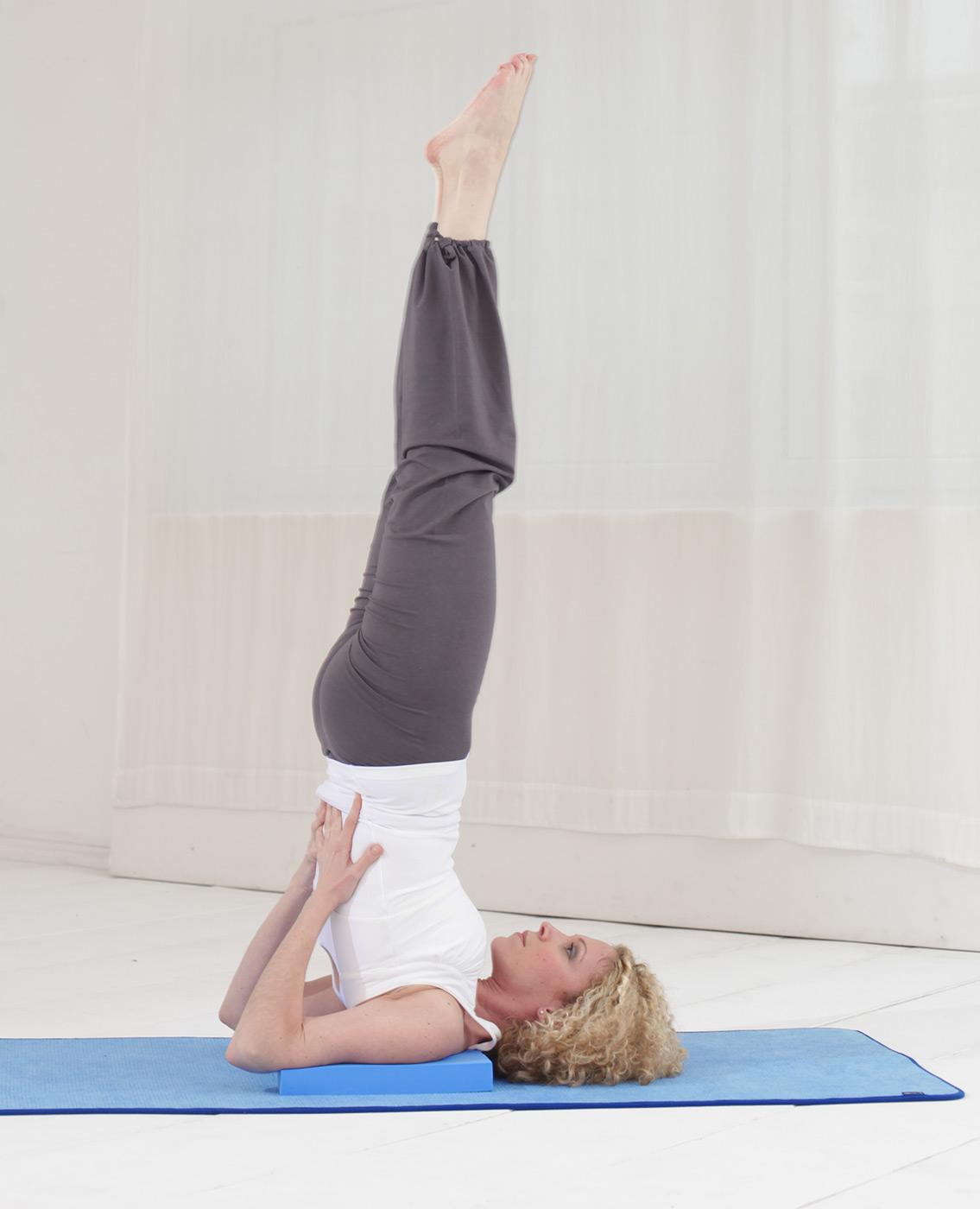 Buy Yoga Blocks London: Yoga Block 'Shoulderstand' Buy Online At YOGISTAR.COM