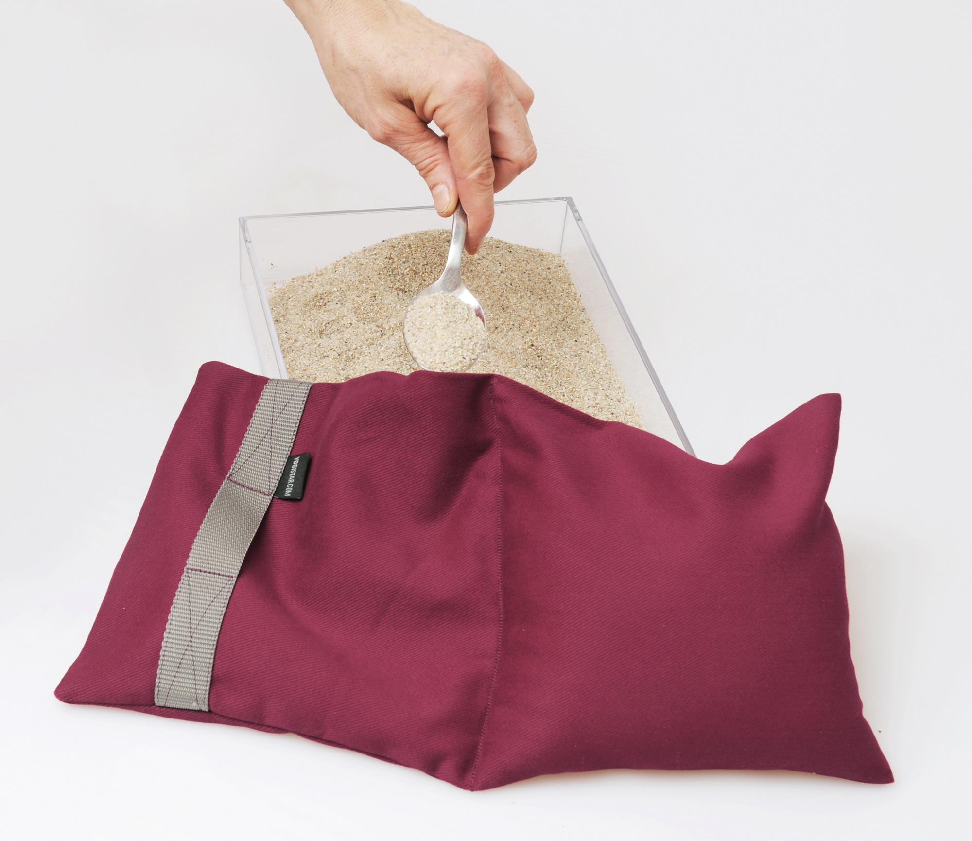 TriYoga sandbag, 4 kg - lilac